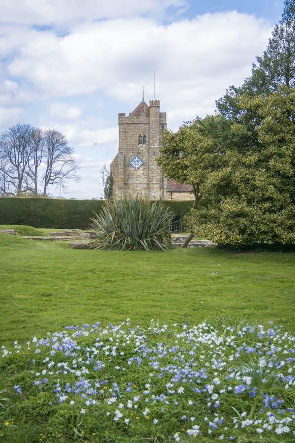 圣玛丽` s教会,争斗,苏克塞斯,英国 库存照片