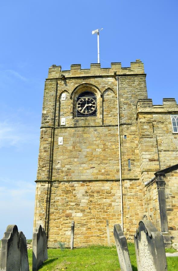 圣玛丽Whitby教会  库存照片