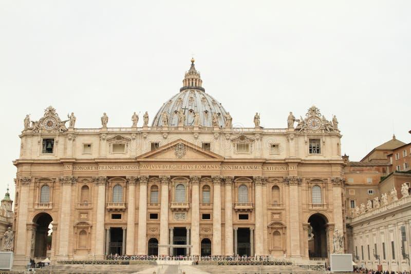 圣皮特圣徒・彼得` s大教堂 免版税库存照片