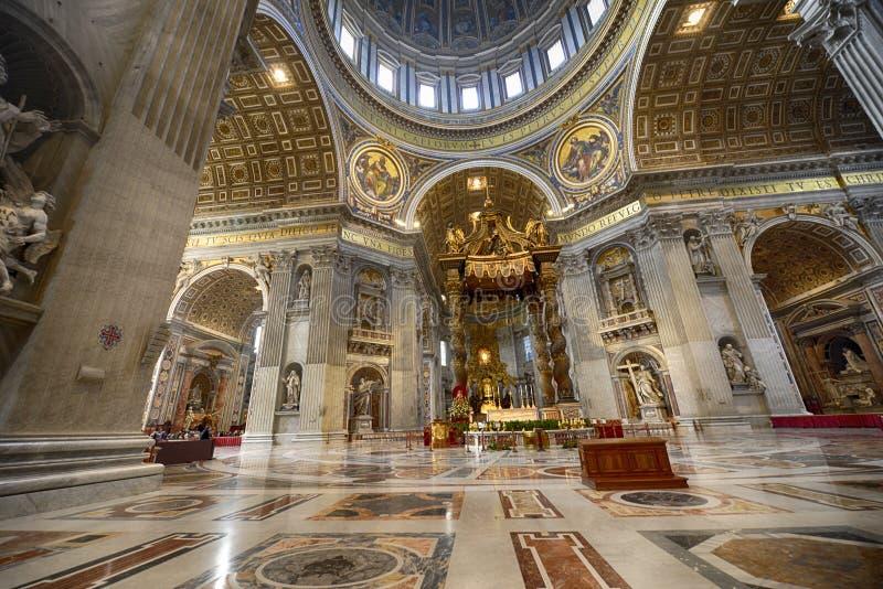圣皮特圣徒・彼得的博物馆梵蒂冈 免版税库存照片
