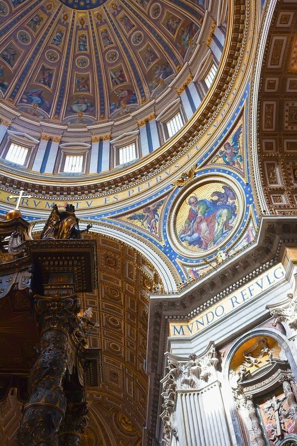 圣皮特圣徒・彼得的大教堂 库存照片