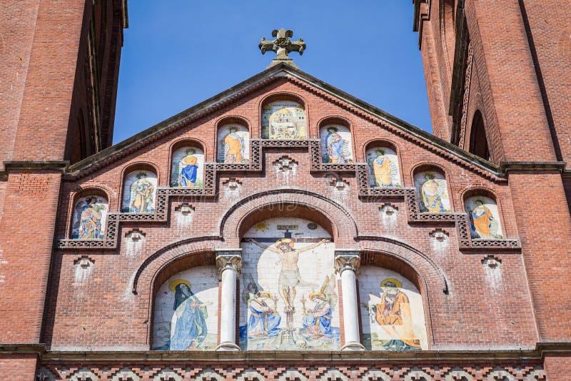 圣皮特圣徒・彼得-克罗地亚的大教堂 免版税库存照片