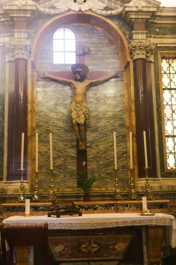 圣皮特大教堂,梵蒂冈 免版税库存照片