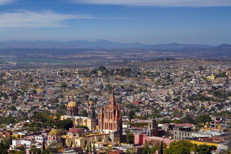 圣米哥de亚伦得,墨西哥 库存图片