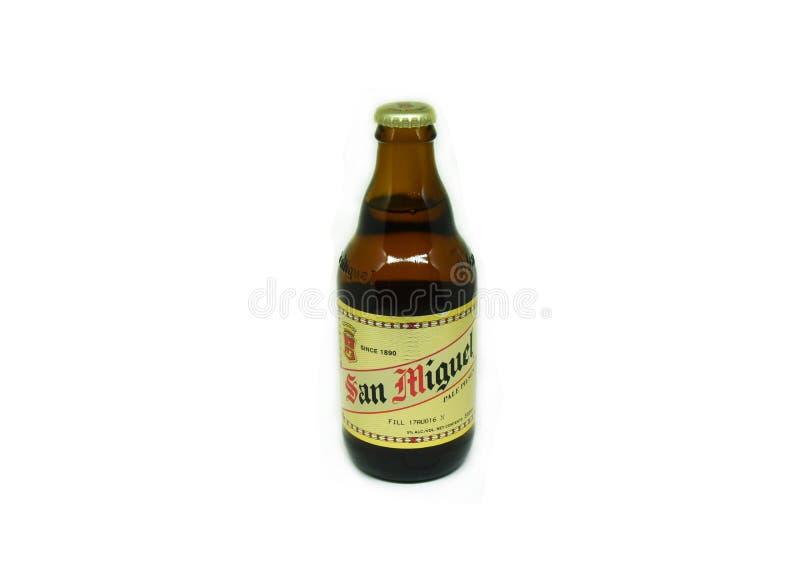 圣米格尔火山啤酒 图库摄影