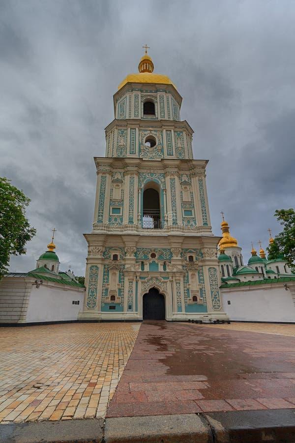 圣索菲娅大教堂钟楼 基辅 库存图片