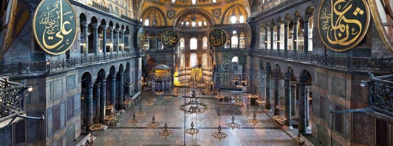 圣索非亚大教堂伊斯坦布尔土耳其 图库摄影