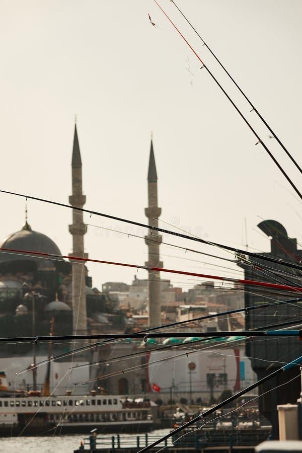 圣索非亚大教堂博物馆,伊斯坦布尔,土耳其看法  免版税库存照片