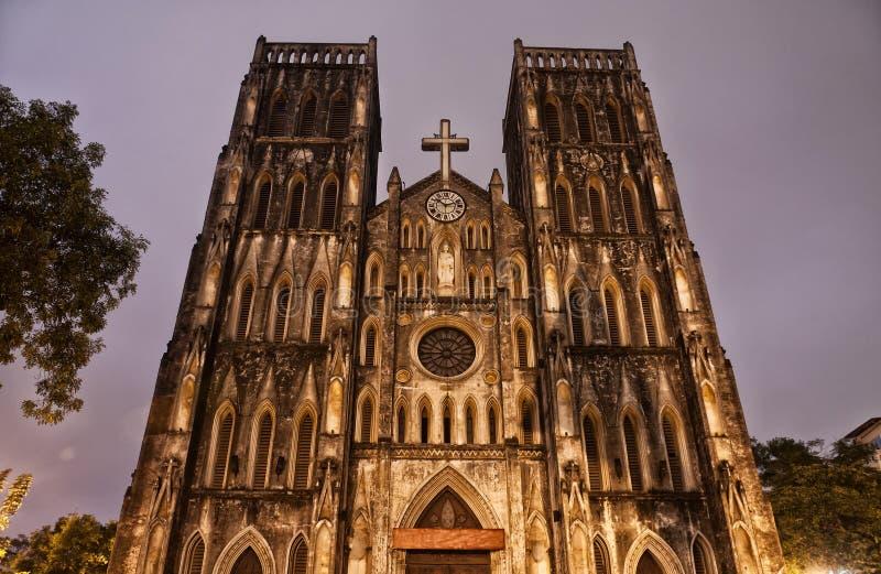圣约瑟夫的大教堂 库存照片