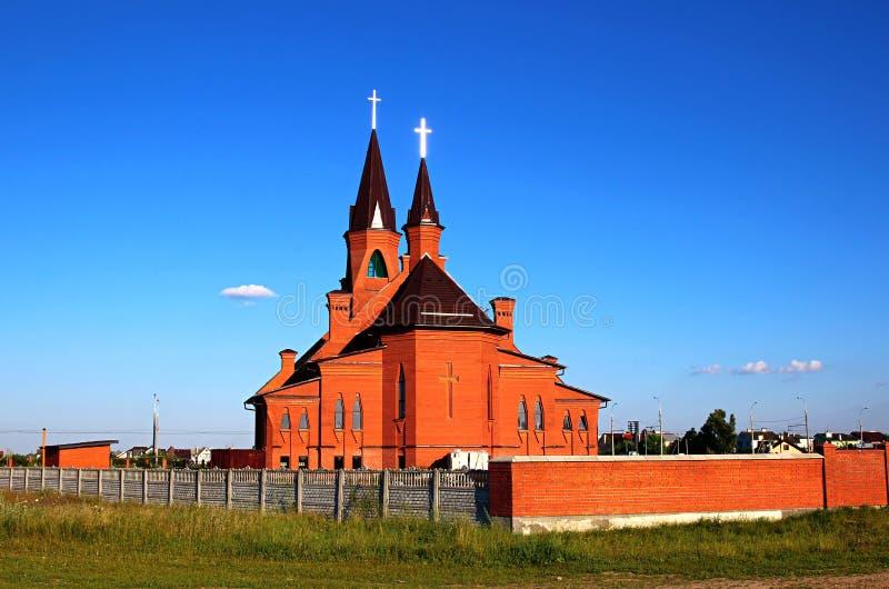 圣约瑟夫的教会在布雷斯特 免版税图库摄影