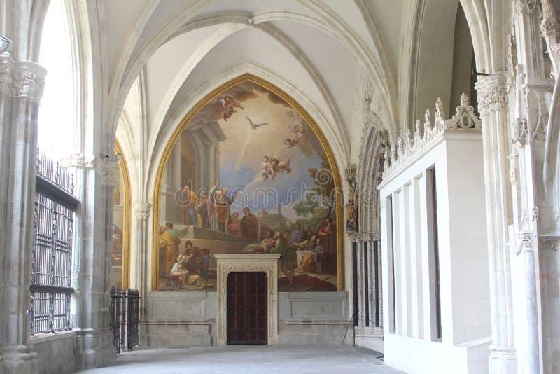 圣约翰国王,托莱多,西班牙修道院  免版税库存图片