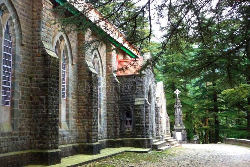 圣约翰教会在原野 免版税库存照片