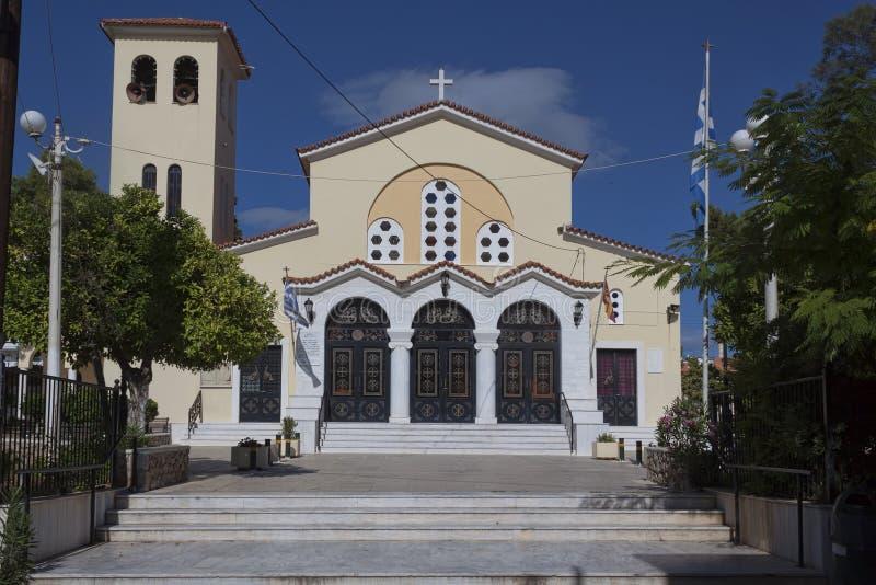圣约翰教会 免版税库存照片
