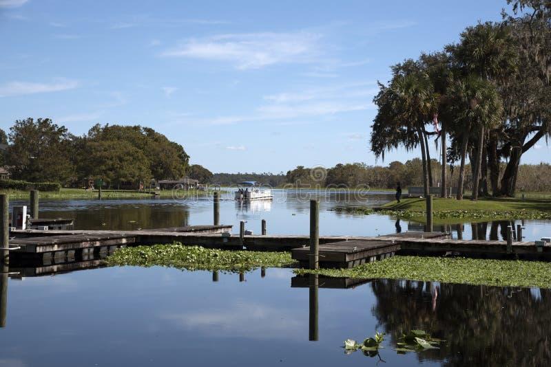 圣约翰斯河佛罗里达美国 库存图片