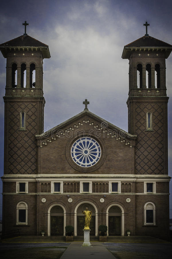 圣约翰施洗约翰教堂 免版税库存图片