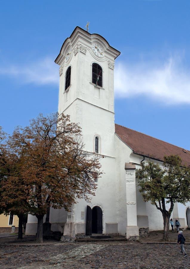 圣约翰浸礼会宽容教区教堂,Szentendre,匈牙利 免版税库存图片