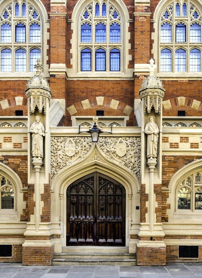 圣约翰的学院,一部分的剑桥大学 免版税库存图片