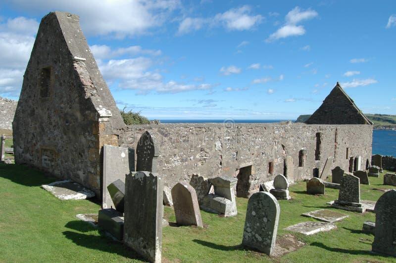 圣约翰的教会和坟园,Gardenstown,苏格兰 库存图片