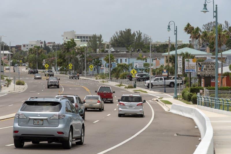 圣约翰的通行证村庄,佛罗里达,美国 免版税图库摄影