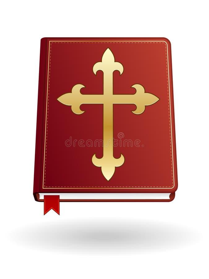 圣经图标 向量例证