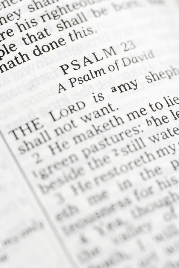 圣经圣洁赞美诗 免版税库存图片