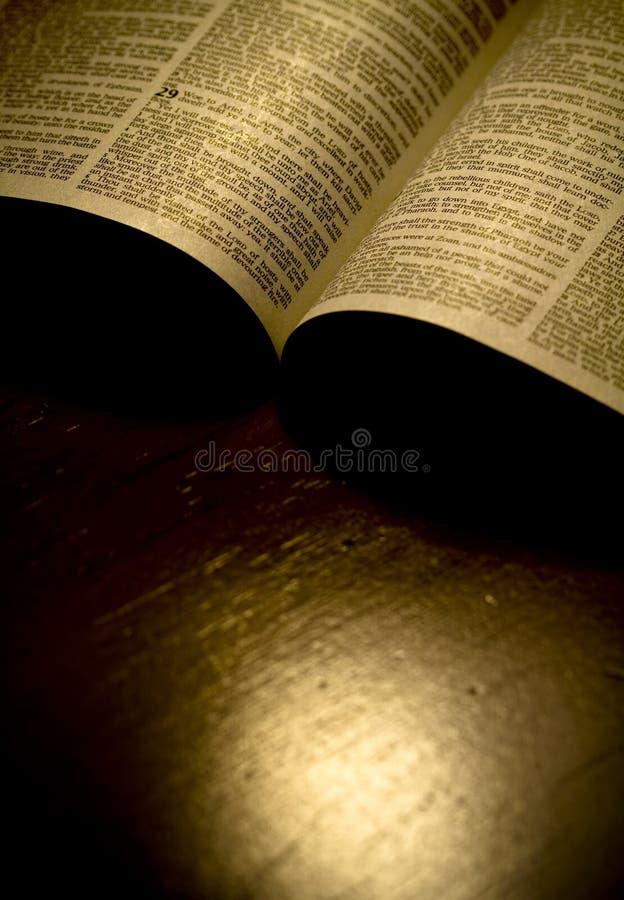 圣经圣洁页 免版税库存照片