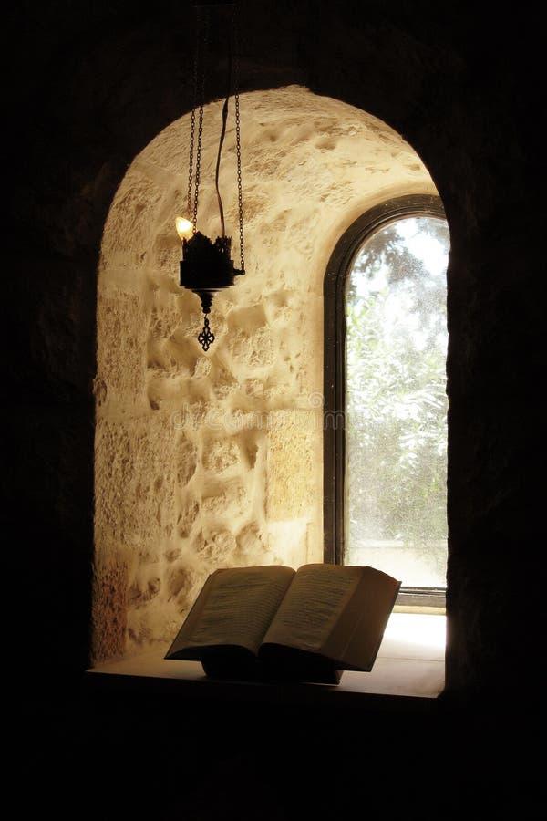 圣经视窗 库存图片