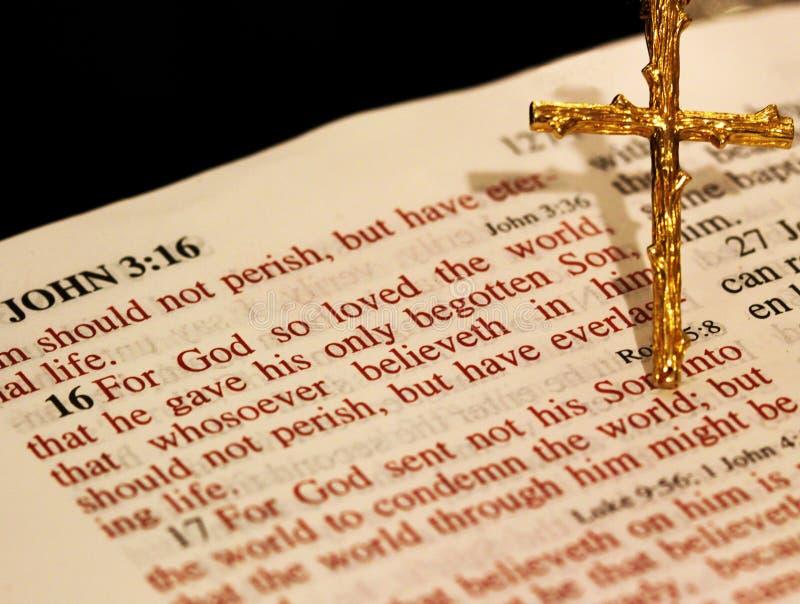 圣经诗歌 库存图片