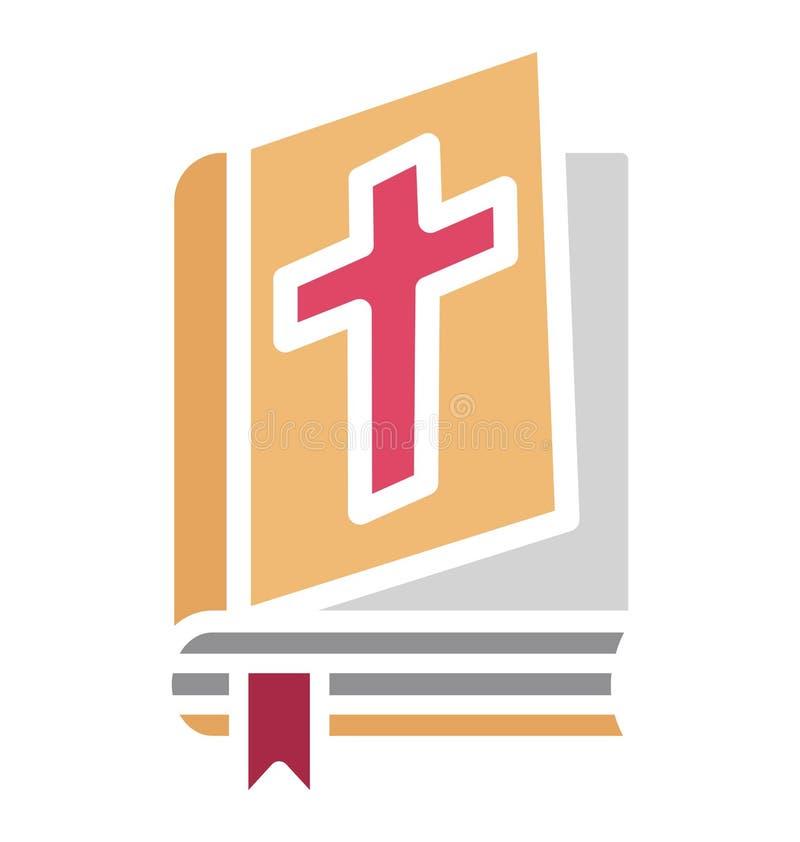 圣经,圣经的书隔绝了可能容易地修改或编辑的传染媒介象 皇族释放例证