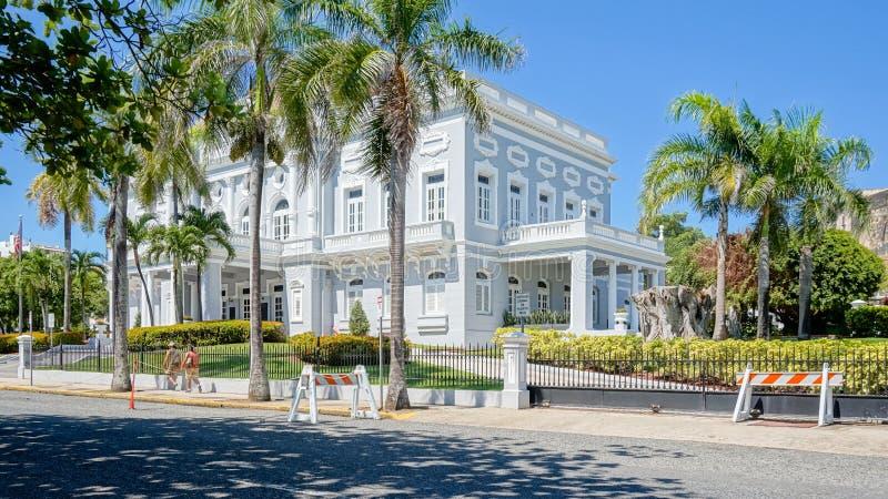 圣胡安市建筑学 赌博娱乐场de波多黎各 免版税库存图片