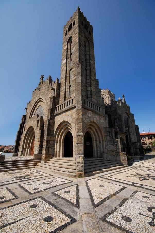 圣胡安教会在Panxon,蓬特韦德拉,西班牙 库存图片