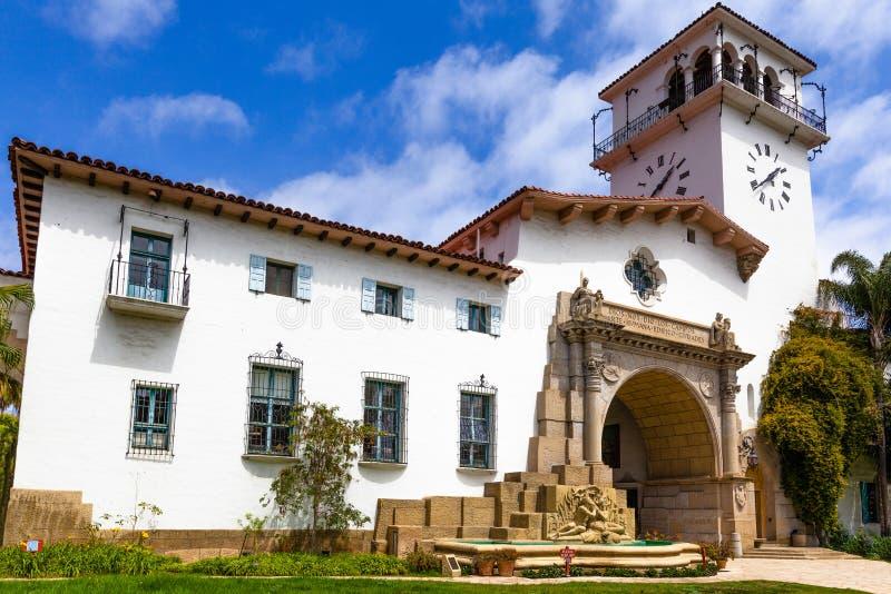 圣芭卜拉法院大楼 免版税图库摄影