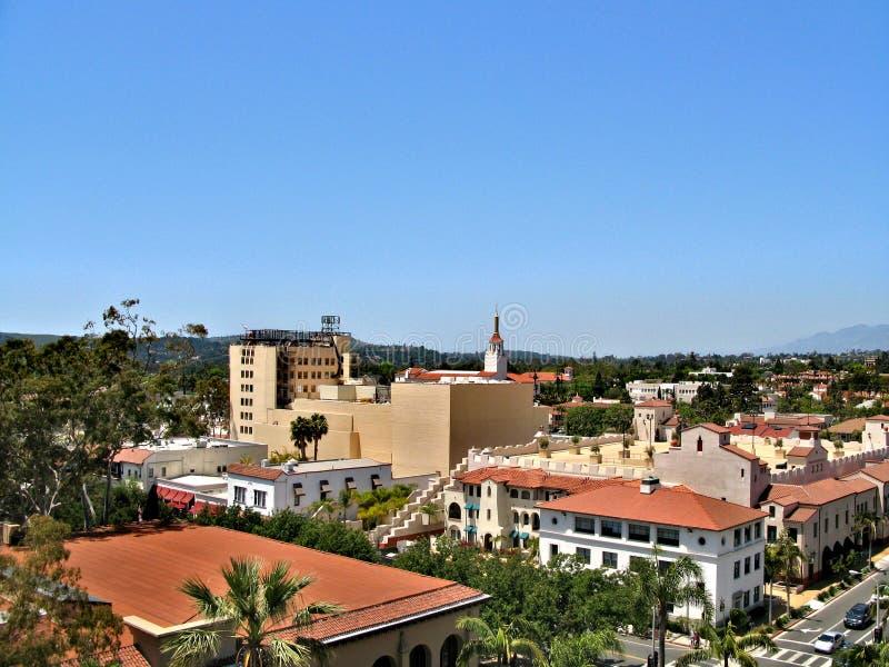 圣芭卜拉,加利福尼亚,美国 免版税库存图片