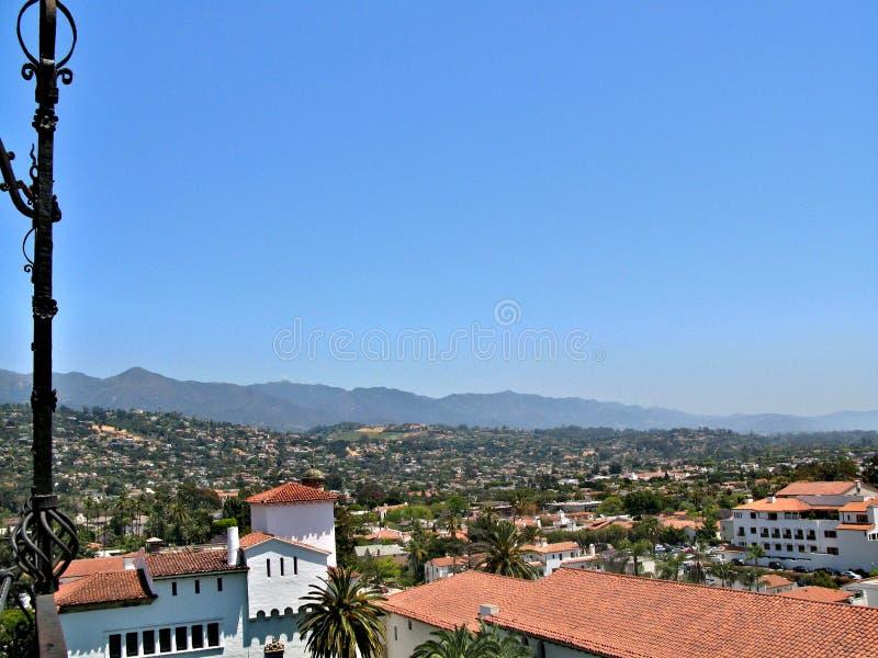 圣芭卜拉,加利福尼亚,美国 免版税库存照片
