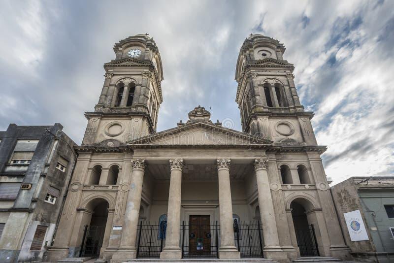 圣若瑟大教堂在Gualeguaychu,阿根廷 免版税库存照片