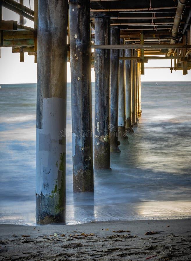 圣莫尼卡码头加利福尼亚 免版税库存照片