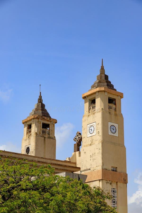 圣菲利普传道者大教堂,普拉塔港,多米尼加Republ 库存图片