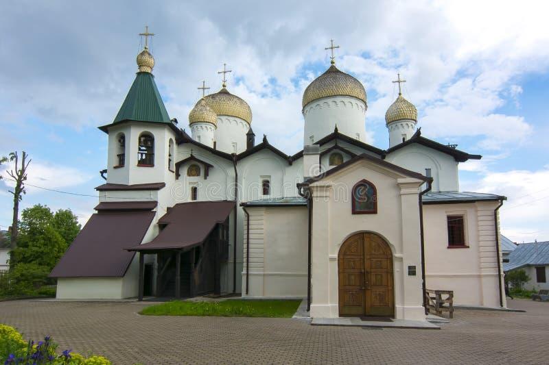 圣菲利普教会传道者和圣尼古拉斯, Veliky诺夫哥罗德,俄罗斯 免版税库存照片