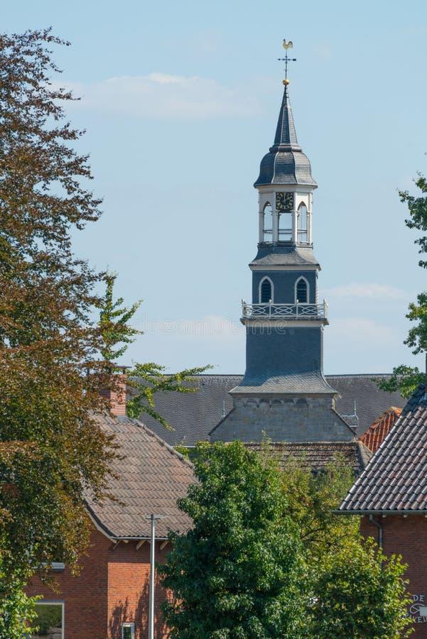 圣西门和Judas教会, Ootmarsum 免版税库存图片
