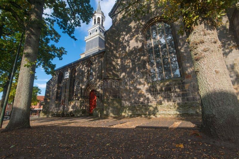 圣西门和Judas教会, Ootmarsum 免版税图库摄影