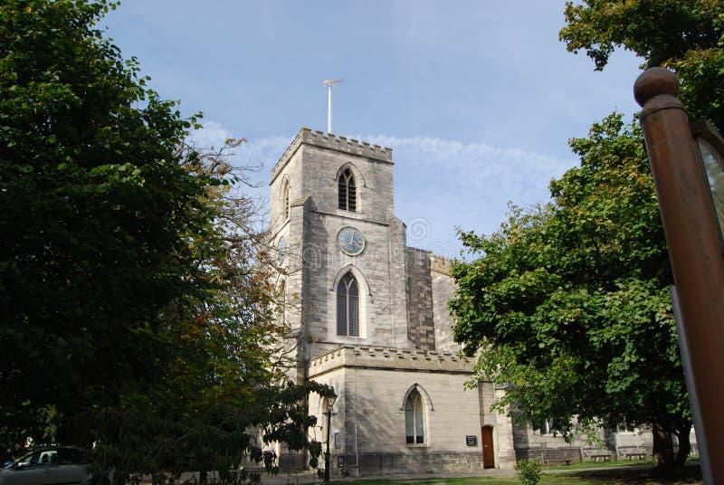 圣詹姆斯教会Poole 免版税库存图片