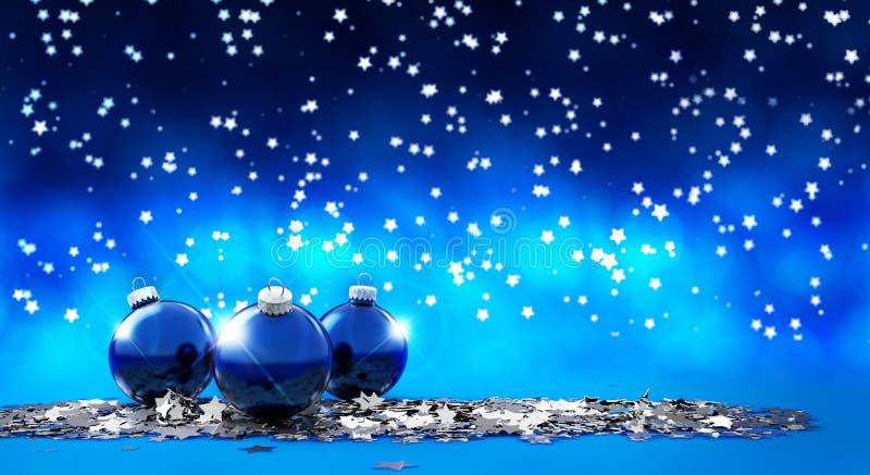 圣诞前夕礼品节假日许多装饰品 皇族释放例证