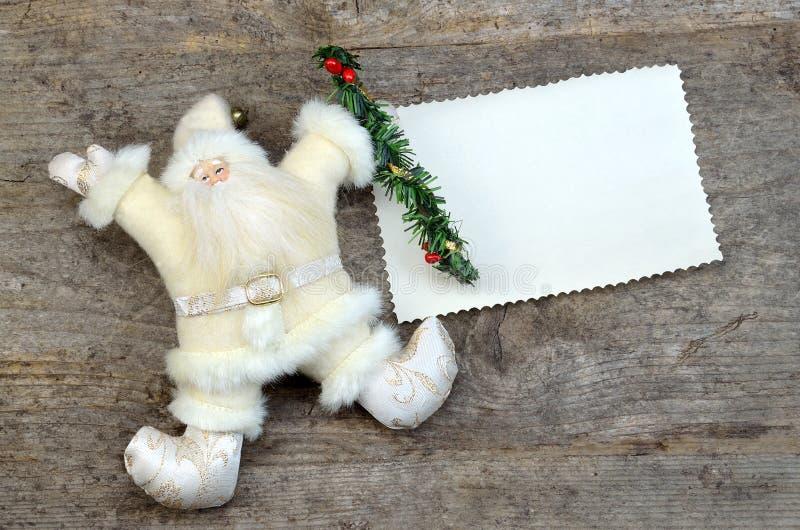 圣诞卡 库存照片