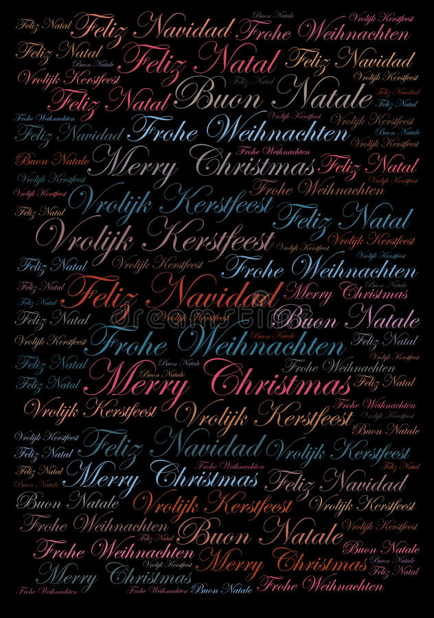 圣诞快乐假日背景 库存例证
