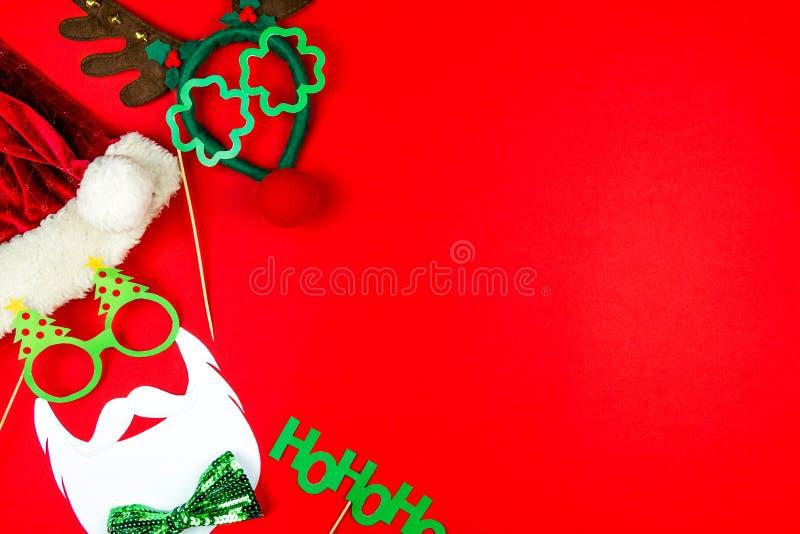 圣诞快乐和愉快的2019新年背景 库存图片