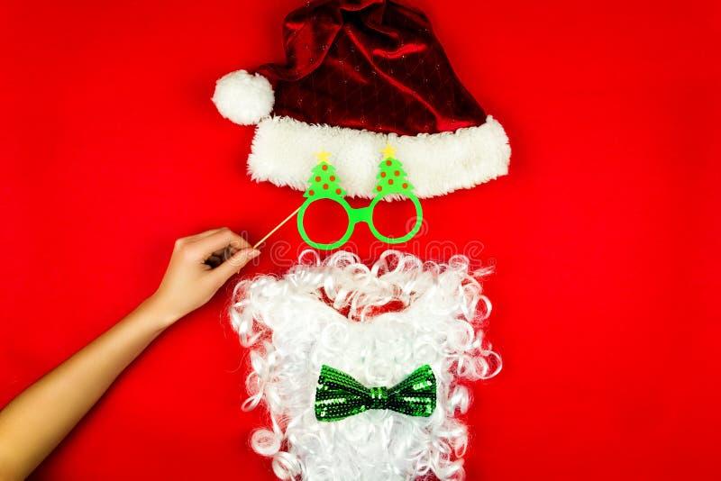 圣诞快乐和愉快的2019新年背景 免版税图库摄影