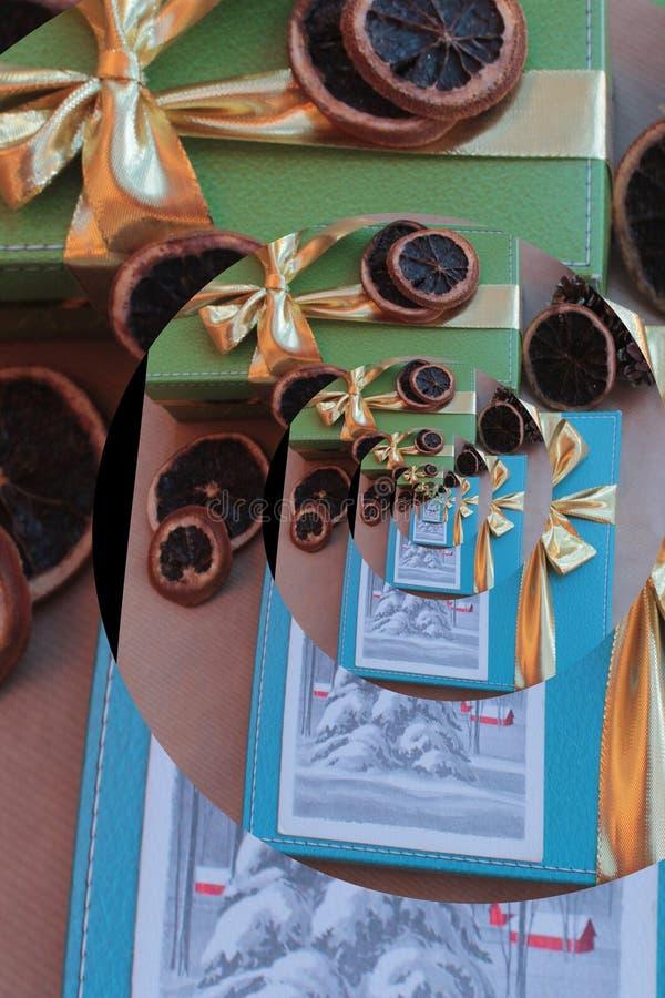 圣诞快乐和新年快乐1 库存图片