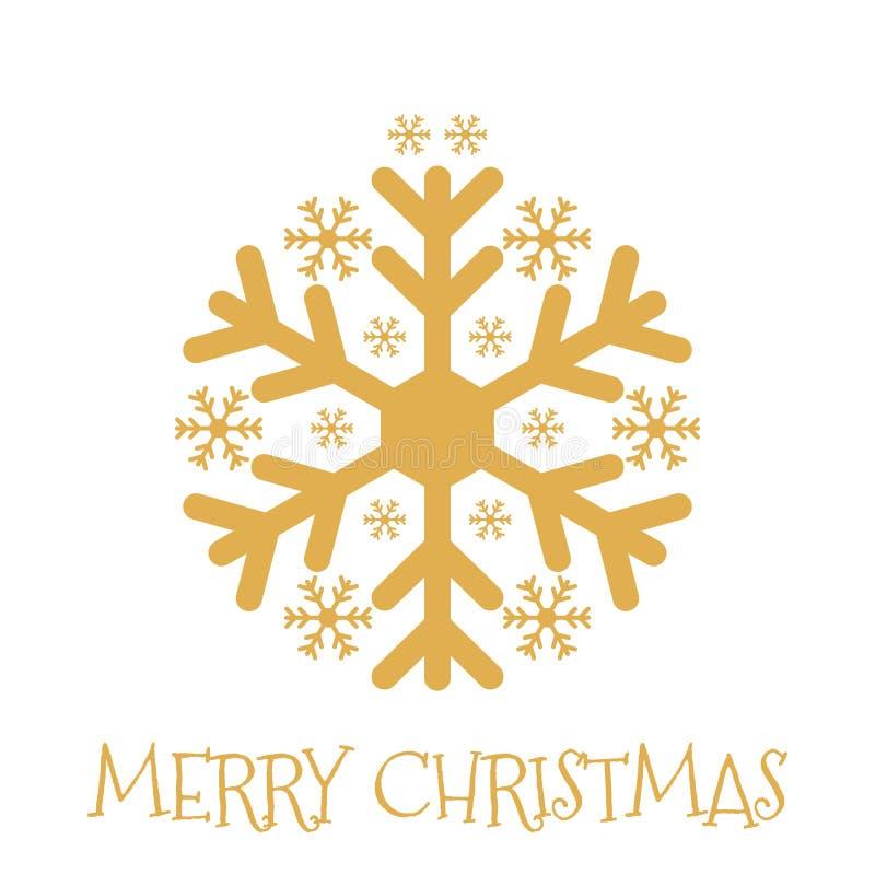 圣诞快乐,与xmas中看不中用的物品的贺卡 皇族释放例证