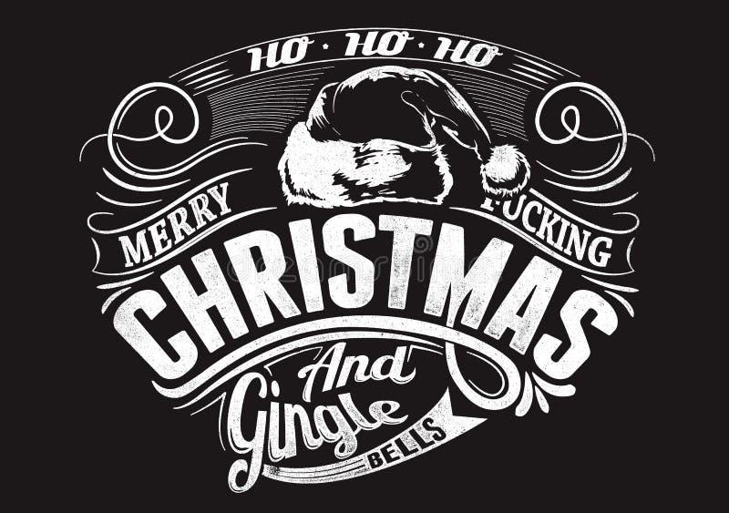 圣诞快乐 皇族释放例证