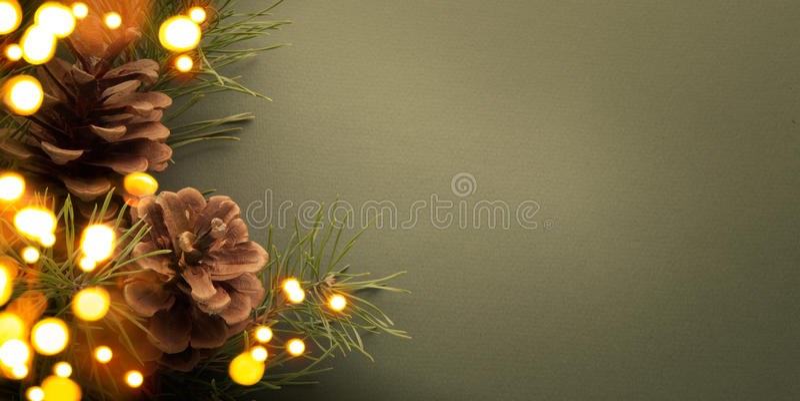 圣诞晚会背景 免版税库存照片